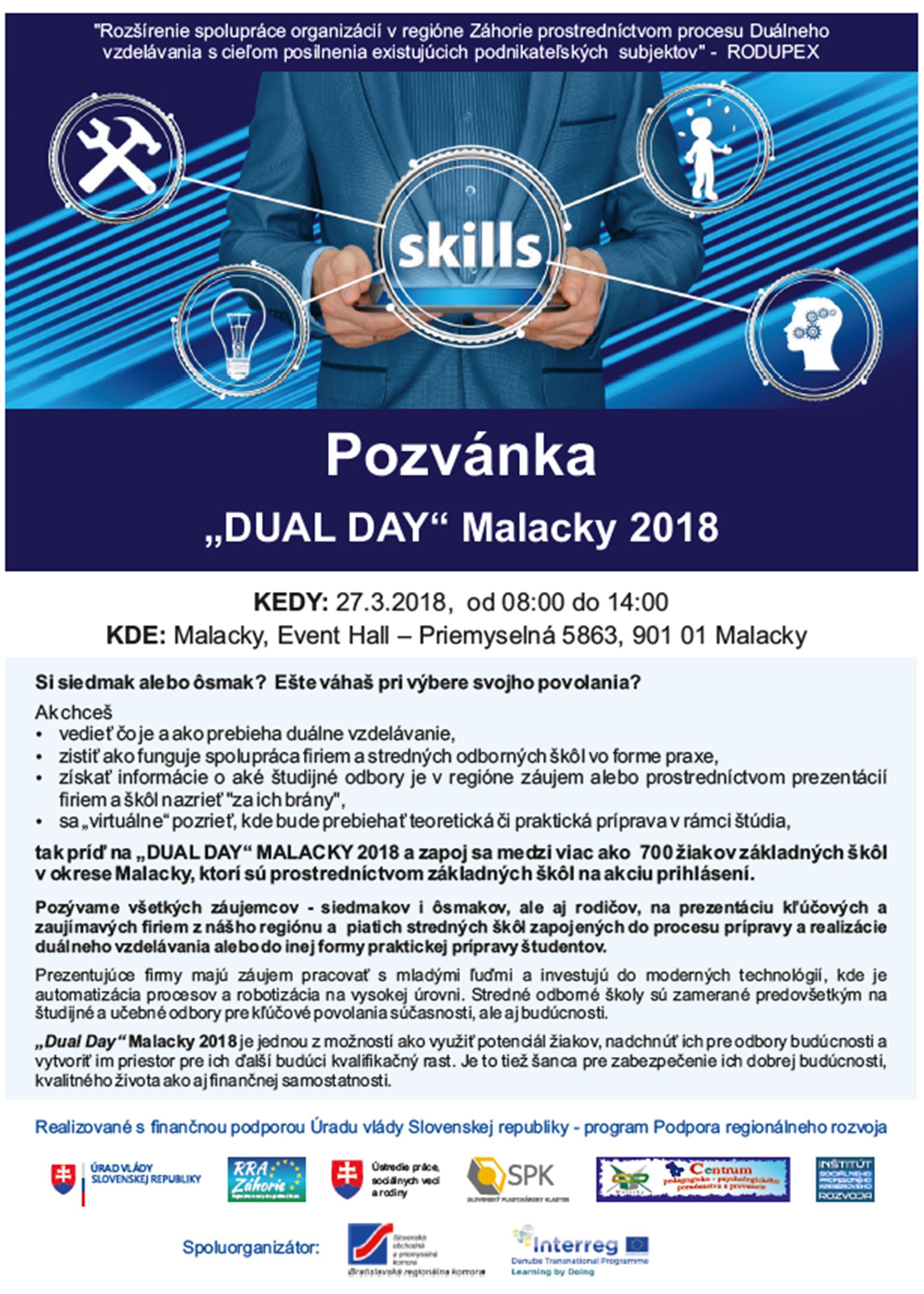 Pozvanka DualDay RRAZ