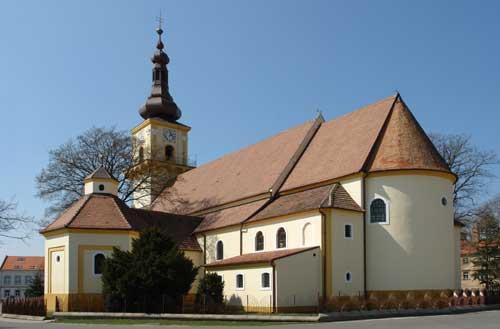 Kostol Sv. Štefana, Stupava
