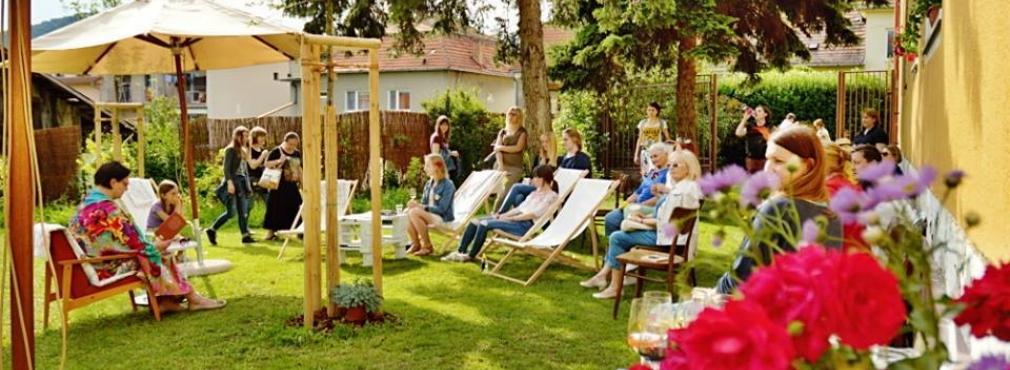 Otvorenie Letnej Citarne V Ramci Dna Otvorenych Zahrad V Modre Top