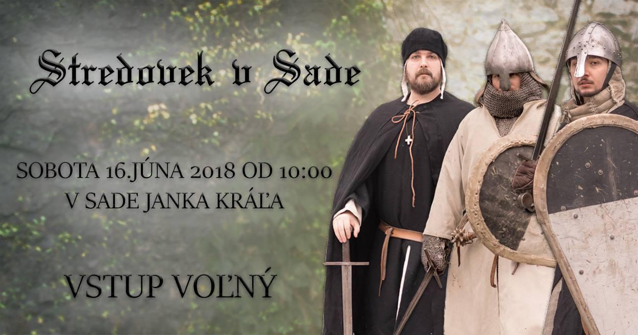 Pozvánka Na Stredovek V Sade